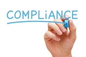 Compliance Blue Marker